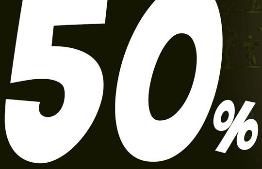 50% Discount on artejaol products!